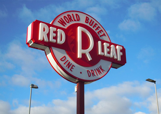 Logo Artwork - Red leaf Restaurant