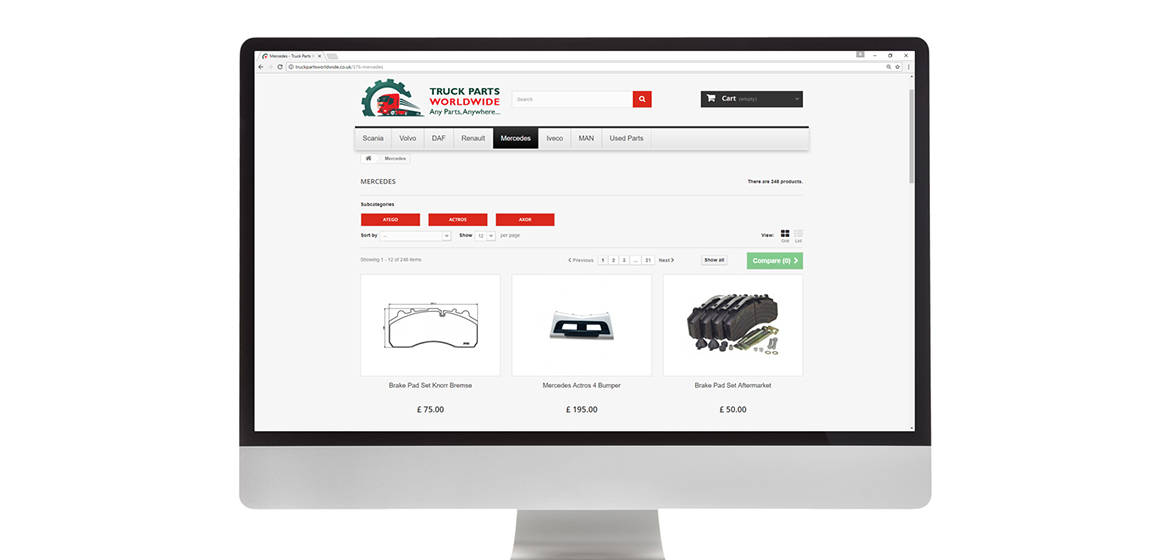 eCommerce Website - TPW