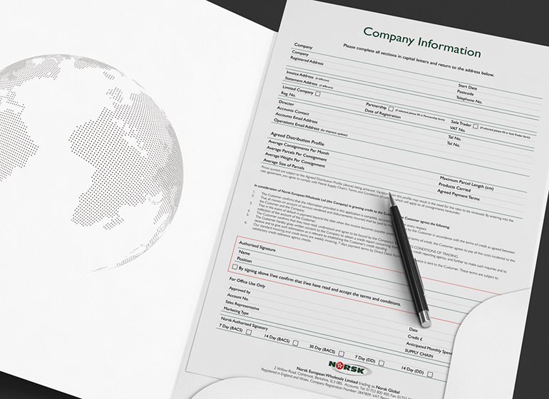 Form Templates - Norsk Global